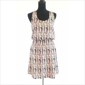 Pixley Marie Abstract Chevron Sleeveless Dress